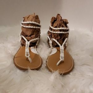 Shoes - Gently used sandals.  Brand name Born (12yrs old).